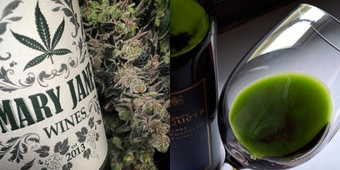 There's a Weed-Infused Wine on the Market — But There's a Catch
