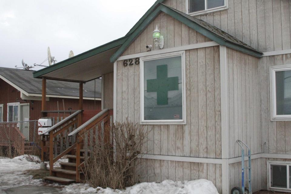 Image of a legal marijuana dispensary in Alaska