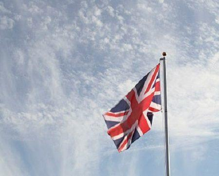 British Union Jack. Image: Michael Beckwith via Wikimedia Commons