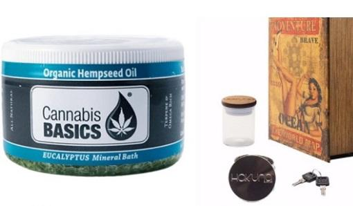 Bath Soaks, Unsuspecting Stash Boxes, and More: Cannabis Product Picks for March 2018 - Cannabis News