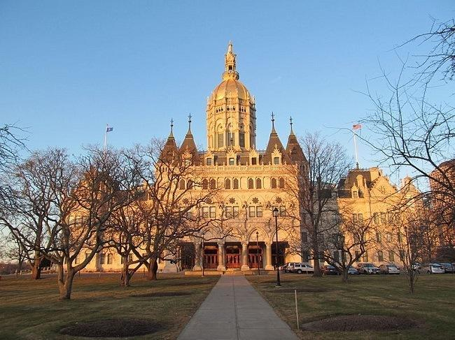 Connecticut State Capitol, Hartford Connecticut. Image: John Phelan via Wikimedia Commons