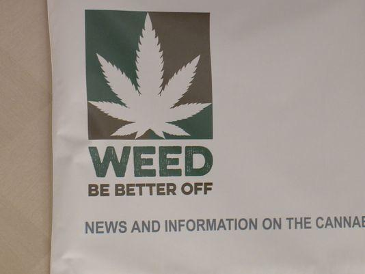 Image of cannabis conference materials after marijuana legalization