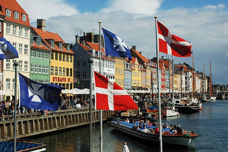 Nyhavn canal as seen from Kongens Nytorv square, Copenhagen, Denmark, Northern Europe. (Photo: Mstyslav Chernov)