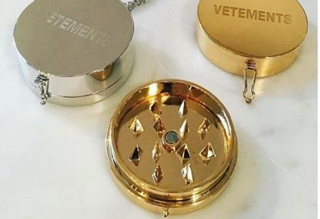 Vetements Unveils a Weed Grinder Necklace – Cannabis News