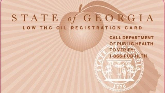 State of Georgia MMJ Card: Photo: CBS46.com