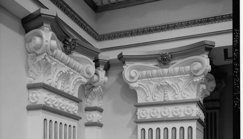 Detail, Georgia State Senate Chambers. Image via Wikimedia Commons