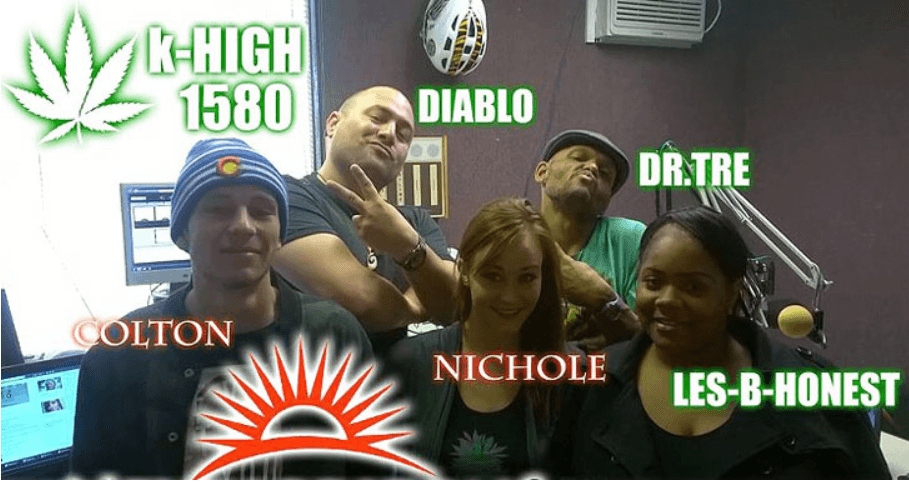 Image of Cannabis Radio K-High personalities