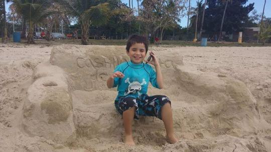 Image of Kalel Santiago, he has non-verbal autism but can speak words using cannabidiol CBD