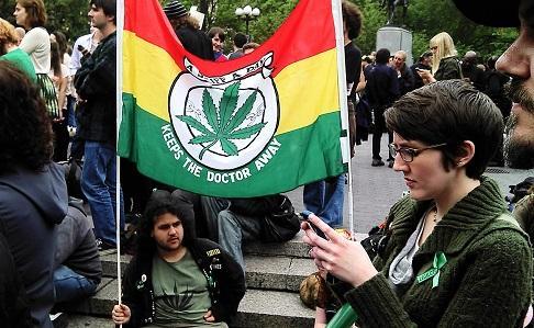 LegalizePotRallyUnionSquare2012ImageDavidShankboneViaWikimediaCommons
