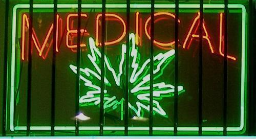 Medical Marijuana SignImageLaurieAvocadoViaWikimediaCommons