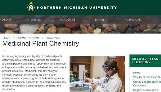 Students can now major in 'medicinal plant chemistry,' or marijuana, at a Midwestern university - Cannabis News