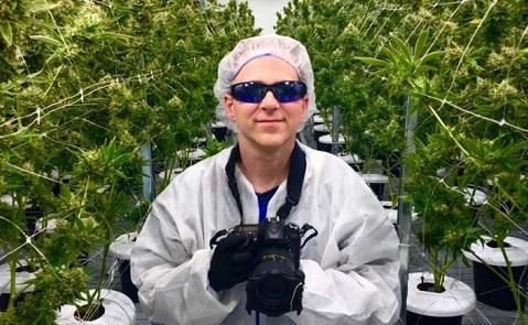 Inside story: World's first cannabis artist-in-residence shares his year of weed immersion - Cannabis News