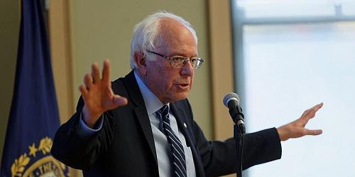 Sanders Meets New Hampshire Seniors By Michael S. Vadon 2015