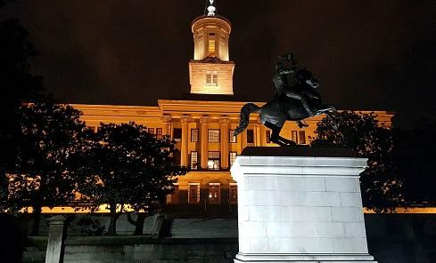 TennesseeStateCapitol.Image.Gstewart89 Via Wikimedia Commons