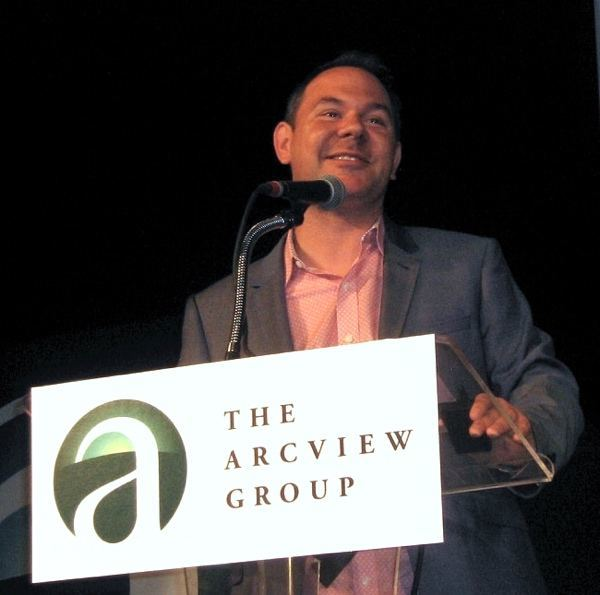 Image of ArcView Group CEO Troy Dayton speaking at June 2015 meeting in Denver/Photo: Bruce Kennedy, WeedWorthy