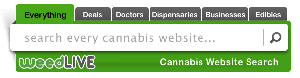 Image of WeedLIVE Search Engine search box