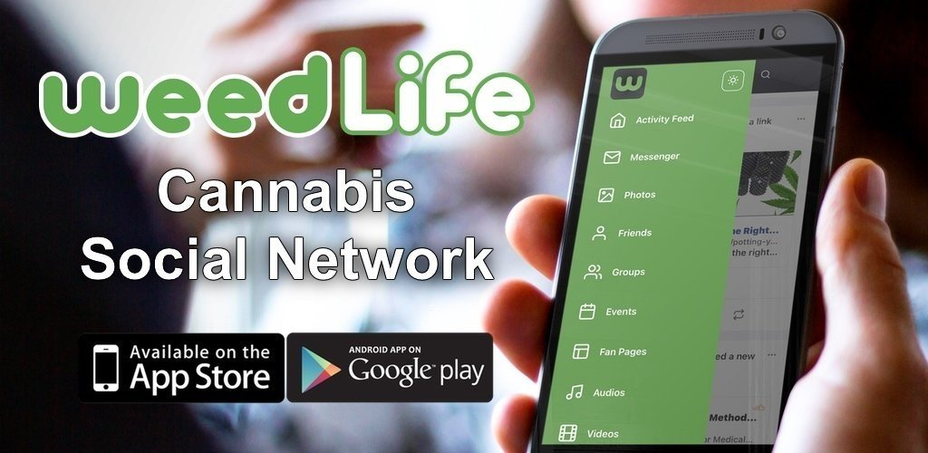 WeedLife Cannabis Social Network Mobile App